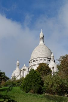 Sacre Coeur Cathedral View Stock Images