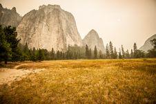 Free Yosemite On Fire Stock Photo - 35037350