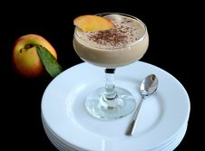Free Zabaglione Sauce Royalty Free Stock Photos - 35037388
