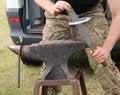 Free Blacksmith Anvil. Royalty Free Stock Photography - 35043257