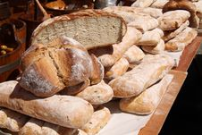 Free Bread Loaves. Stock Image - 35040431
