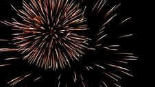 Free Volleys Firework Stock Photos - 35043163