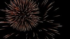 Free Volleys Firework Multi Stock Photography - 35043202