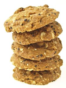 Free Tilted Tower Cookies Royalty Free Stock Images - 35045799