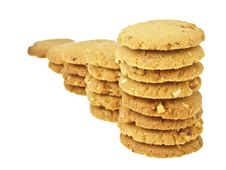 Free Step Cookie Bar Royalty Free Stock Photos - 35046648