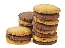 Free Mix Cookie Pile Royalty Free Stock Photo - 35046695