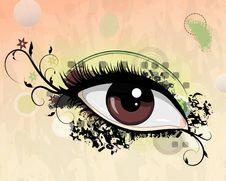 Free Grunge Eye Royalty Free Stock Photography - 35050837