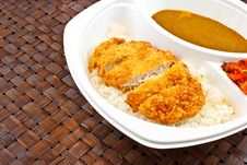 Free Fried Pork Curry Stock Images - 35052674