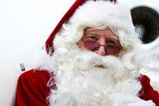 Close Up Of Santa Claus Stock Image
