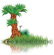 Free Tree And Grass Stock Photos - 35055383