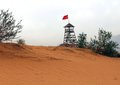 Free Observation Tower In The Desert Stock Photos - 35065543