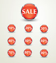 Free Sale Discount  Glossy Stock Photography - 35065942