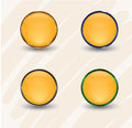 Free Gold Interface Icons Royalty Free Stock Photography - 35066087