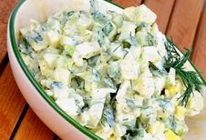 Free Potato Salad Stock Image - 35064701