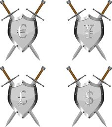 Free Forex Armour Royalty Free Stock Image - 35064826