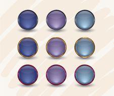 Free Glossy Interface Icons Stock Photo - 35065870