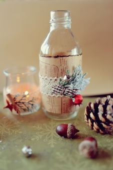 Free Christmas Composition Stock Image - 35069111