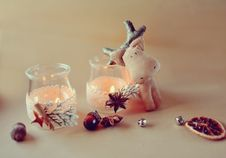 Free Christmas Composition Royalty Free Stock Images - 35069139