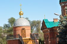 NIKOLSKY Cathedral Fragments Royalty Free Stock Photo
