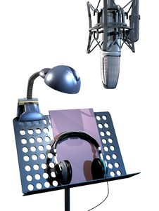 Ready For Recording Royalty Free Stock Photography