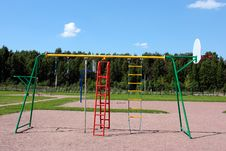 Playground For Children Royalty Free Stock Image
