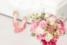 Free Bright Luxury Wedding Flowers Background Royalty Free Stock Image - 35077876