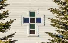 Free A Church Window Stock Photography - 35079492