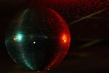 Free Multi Coloured Mirror Ball Stock Photo - 35084990