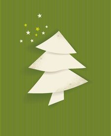 Free Christmas Tree Royalty Free Stock Photography - 35087537