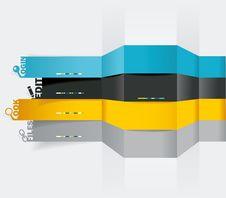 Free Vector Web Design Template Royalty Free Stock Photos - 35089968