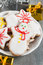 Free Christmas Cookies Royalty Free Stock Photo - 35087825
