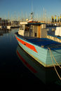 Free Fishermans Boat In The Harbour Of Trieste Stock Photography - 35095252
