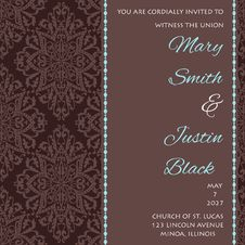 Free Wedding Card Stock Images - 35090104