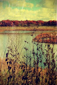 Free Autumn Landscape Royalty Free Stock Image - 35091976