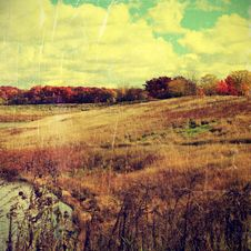 Free Autumn Landscape Stock Photos - 35091983