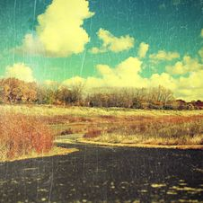 Free Autumn Landscape Stock Photo - 35091990