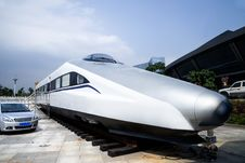 Free High-speed Train Model Stock Photo - 35095800