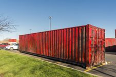Free Red Container Stock Photo - 35095940