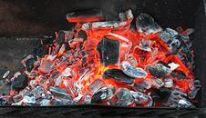 Free Coal Burning Royalty Free Stock Photography - 35097907