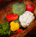 Free Basket Full Of Vegetables Royalty Free Stock Photos - 3516458