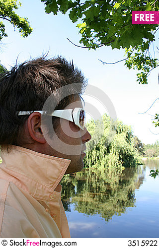 Free Model In The Shade Stock Photography - 3515922
