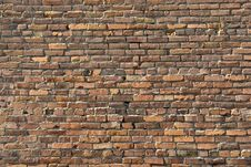 Free Textured Brick Wall Royalty Free Stock Photos - 3510518