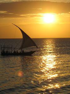 Free Sunset Cruise Stock Photography - 3510722