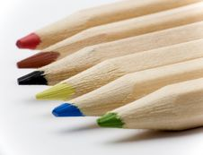 Free Pencil Tips Royalty Free Stock Photography - 3510807