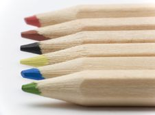 Free Pencil Tips Stock Photography - 3510812