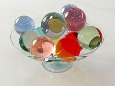 Free Glass Balls-2 Stock Photography - 3512772