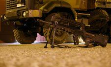 Free Machine Gun Stock Image - 3513161