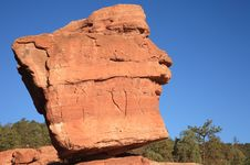 Free Balanced Rock 1 Stock Photos - 3513433