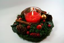 Free Advent Wreath Stock Photography - 3514852