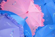 Free Parasols Royalty Free Stock Image - 3515136